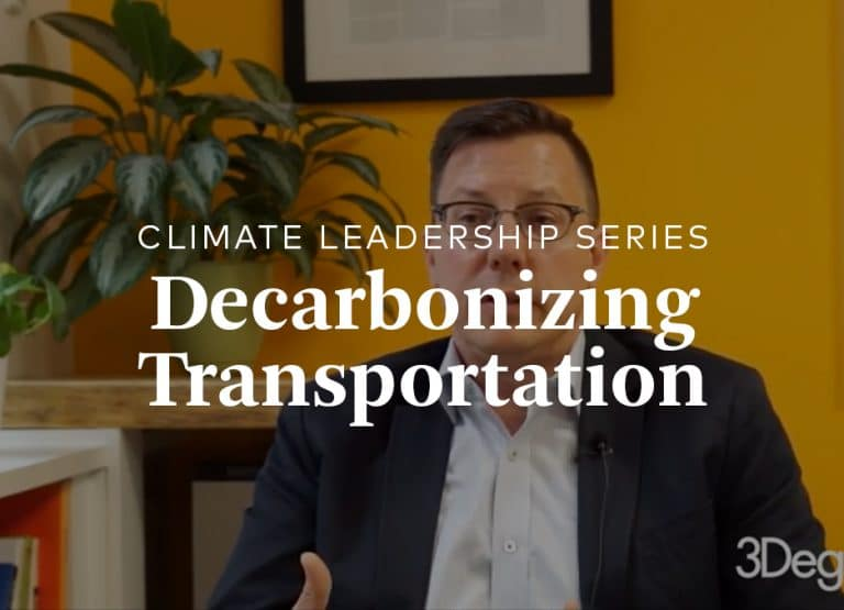 decarbonizing transportation