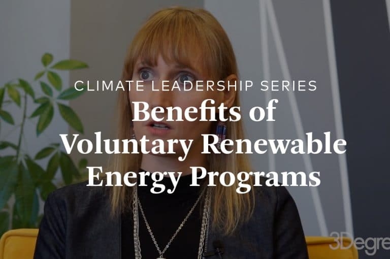 Amanda Mortlock talks about green power programs