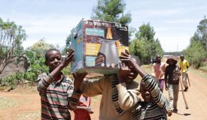 HomeStoves are delivered to households.